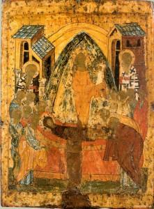 Икона Успения Божией Матери Семигородная или Семигородская