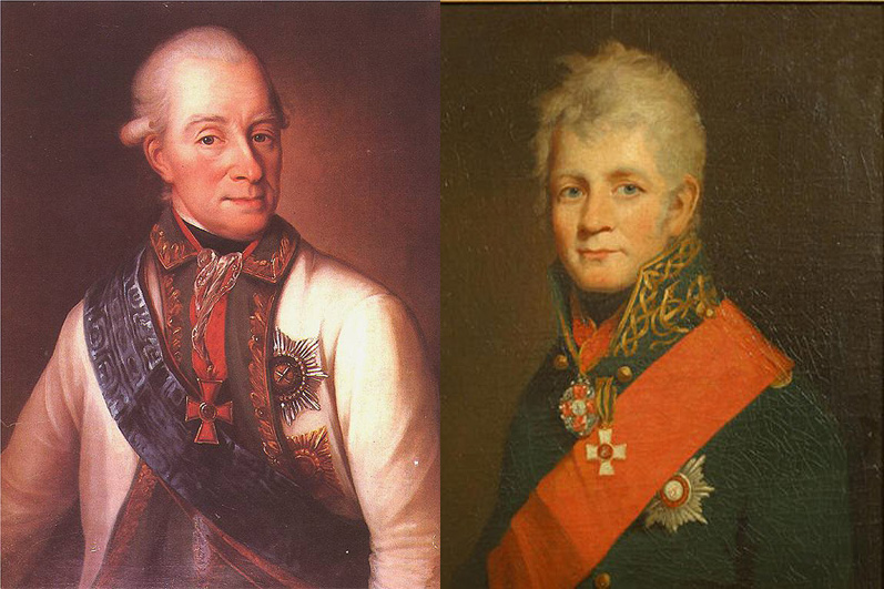 Василий и Павел Чичаговы