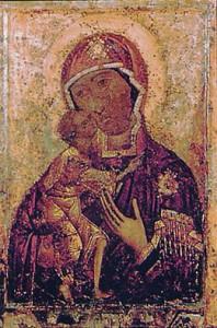 Икона Божией Матери Феодоровская - Костромская