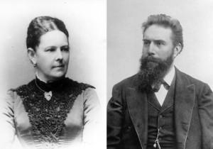 Вильгельм и Анна Рентген