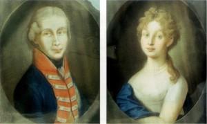 Фридрих Вильгельм III и Луиза Прусская