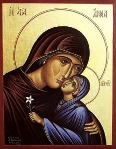Православный календарь 7 августа. Успение праведной Анны, матери Пресвятой Богородицы.
