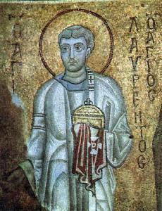 Мученики архидиакон Лаврентий, Папа Римский Сикст