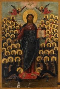 Празднество Всемилостивому Спасу и Пресвятой Богородице