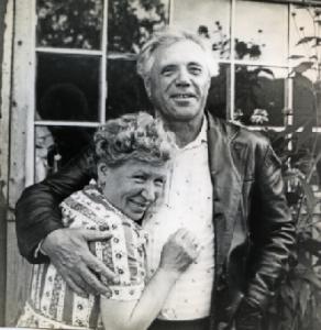Виктор Астафьев и Мария Корякина