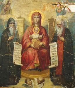 Свенская (Печорская) икона Божией Матери