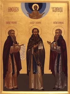 Перенесение мощей преподобных Зосимы, Савватия и Германа Соловецких