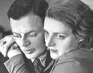 Илья Ильф и Мария Тарасенко