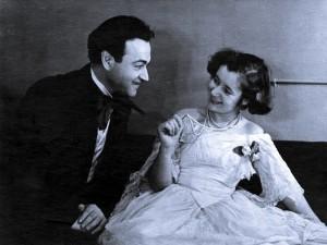 Ефим Копелян и Людмила Макарова