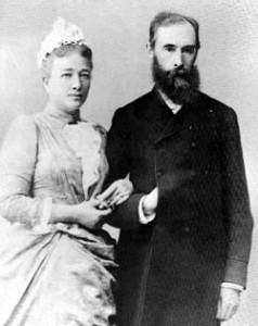 Павел Третьяков и Вера Мамонтова