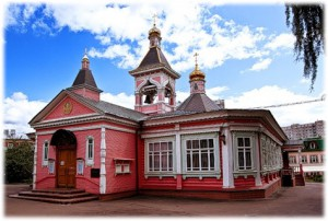 Храм Спаси Преображения в селе Богородском
