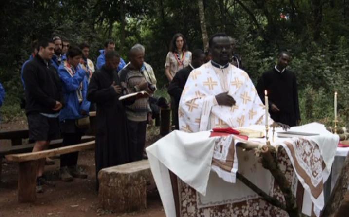 Православное богослужение в Африке