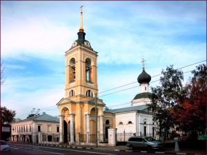 Храм Успения Божией Матери в Казачьей слободе