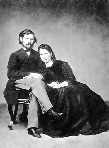 Иван и Софья Крамские