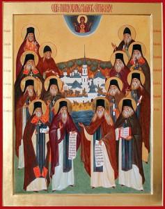 Преподобные старцы Оптинские