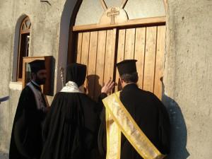 Крит. Освящение храма.