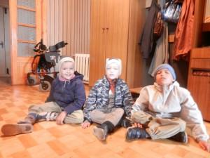 Реабилитация для Егора, Толи и Вовы Кузьминых