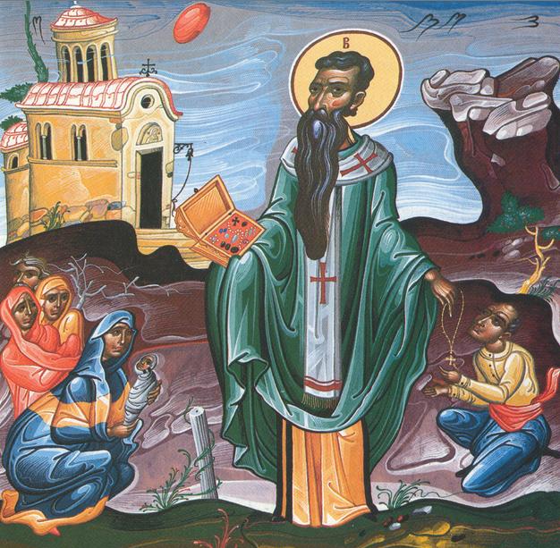 Святитель Василий - греческий дед Мороз