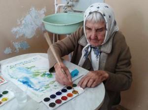 Арт-терапия в домах престарелых