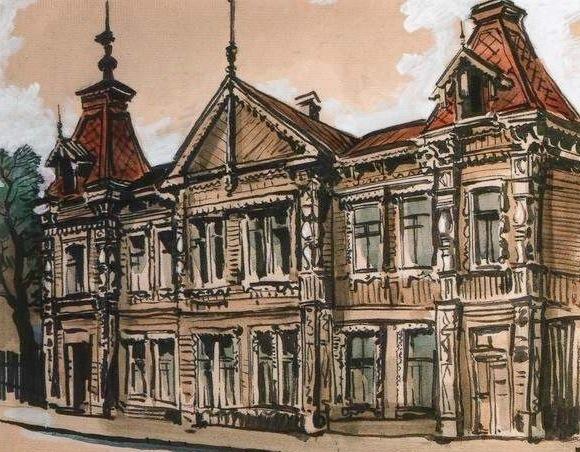 Дом купца Маштако́ва – символ старой Самары