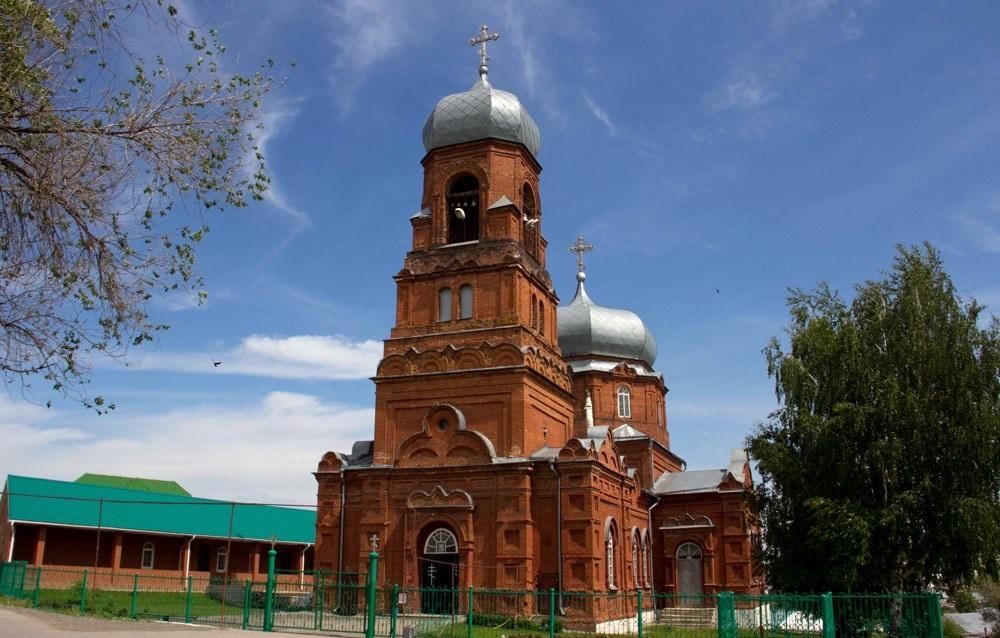 Богоявленский храм (село Курумоч)