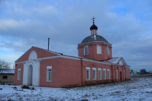 Церковь Воскресения Христова в селе Воскресенка