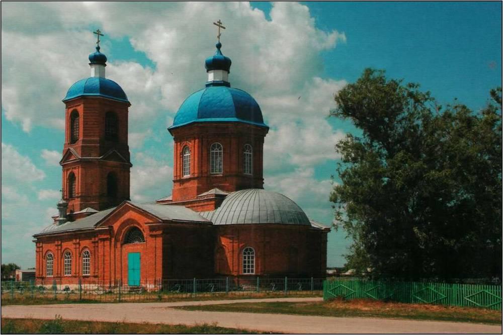 Церковь Димитрия Солунского (село Сухая Вязо́вка)