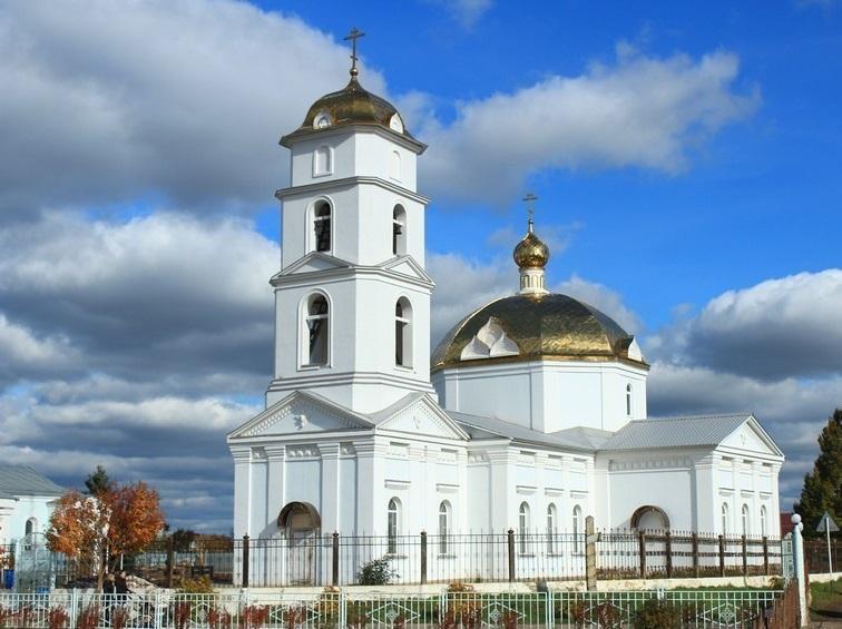 Церковь святителя Николая Чудотворца (поселок Смышля́евка)