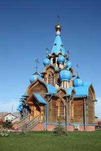 Церковь Рождества Богородицы (поселок Петра Дубрава)