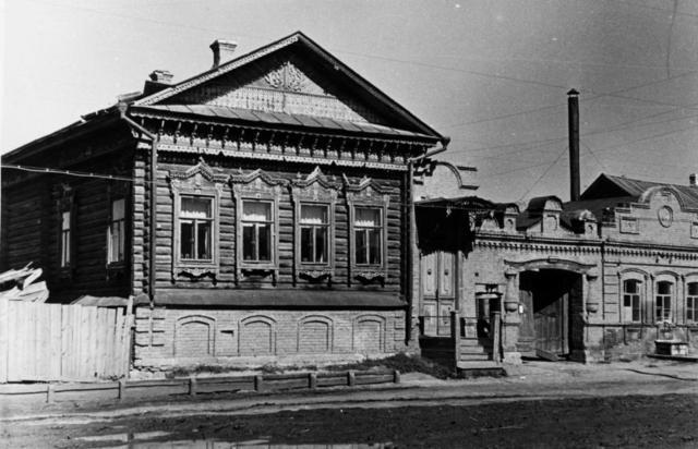 Дом купца Субботина в Тольятти.
