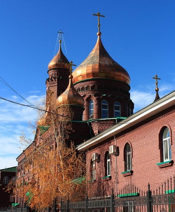 Храм Казанской иконы Божией Матери г. Тольятти