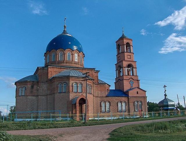 Храм в честь Пресвятой Троицы село Утёвка