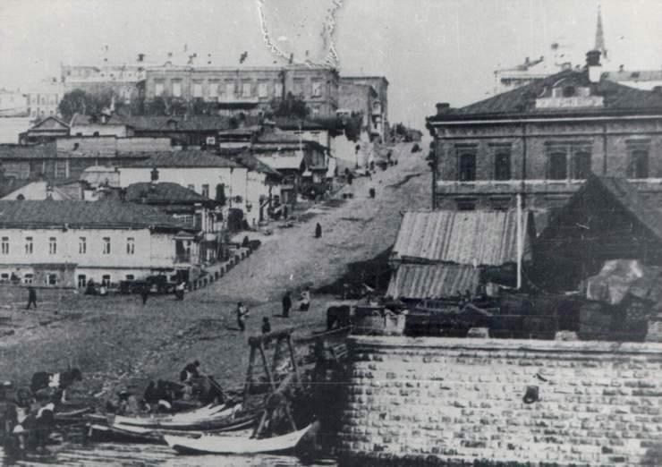 Некрасовская (прежде Предтеченская) улица в Самаре