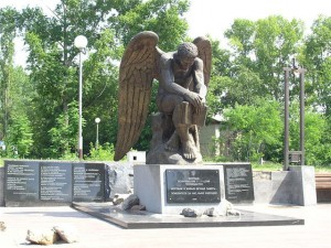 Памятник жертвам репрессий «Скорбящий ангел»