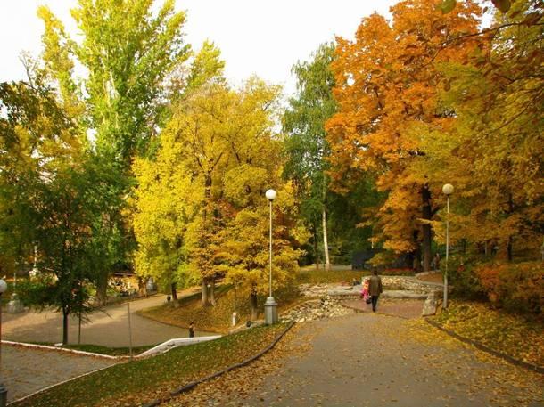 Струковский сад – старейший в Самаре