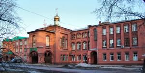 Церковь Кирилла и Марии Радонежских при Самарской семинарии