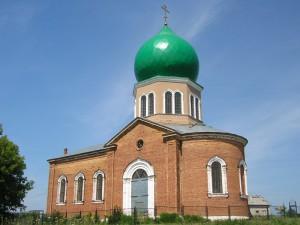 Церковь Космы и Дамиана поселок Брусяны