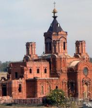 Церковь Космы и Дамиана село Мусорка