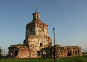 Церковь Николая Чудотворца село Осиновка