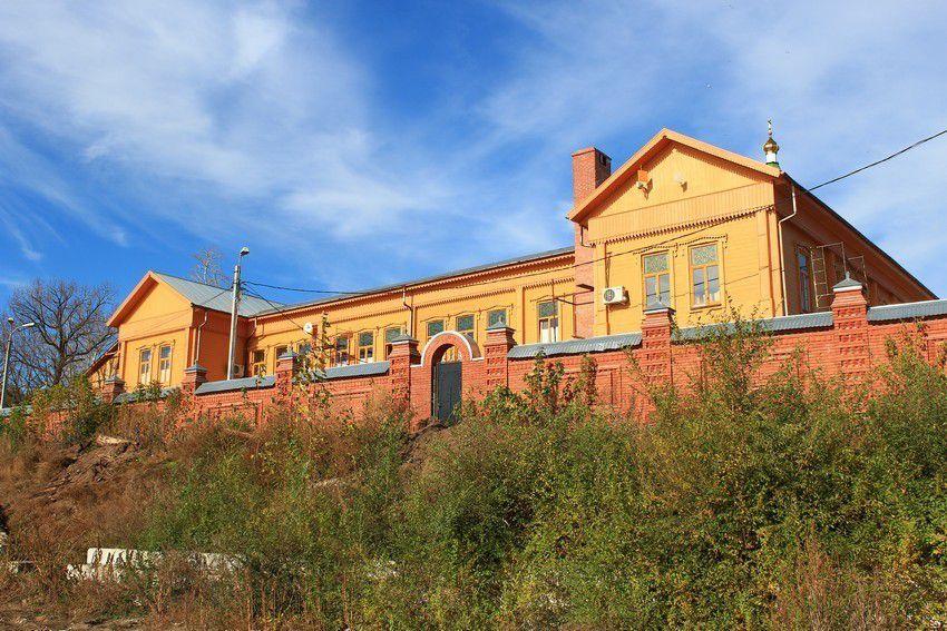 Воскресенский мужской монастырь Портпоселок