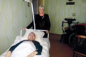 Инвалидная коляска для Валерия Кострова