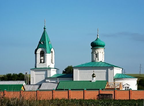 Храм Александра Свирского (село Степное Дурасово)