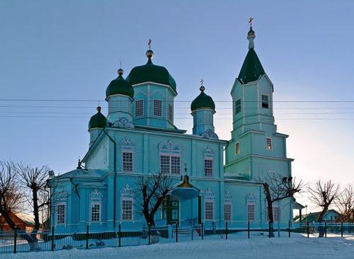 Храм Михаила Архангела (поселок Красные ключи)