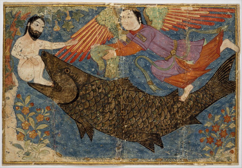 Пророк Иона и кит