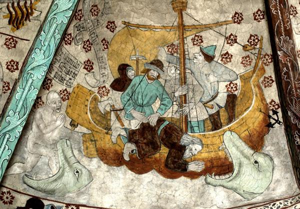 Пророк Иона и кит.