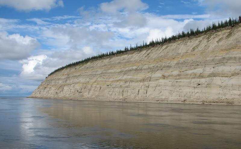 Река Лена. Сибирь