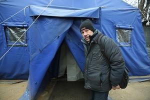 Ангар «Спасение» для бездомных