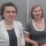 Анна Овсянникова, Ксения Коваленок 1