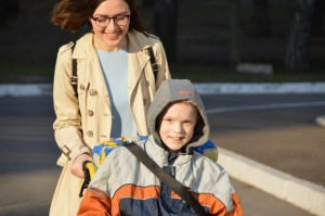 Прогулки с детьми из Детского дома-интерната №15