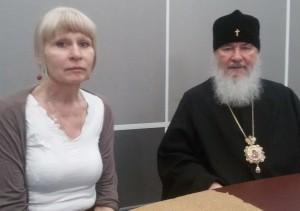 митр. Климент и Олеся Николаева